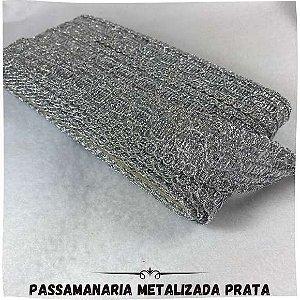 Passamanarias Prata  30MM-10M Largura