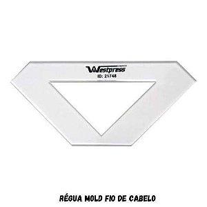 Régua Mold Fio de Cabelo  10mm x 4,5mm