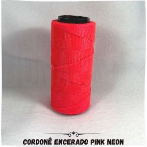 Cordonê Encerado Pink Neon