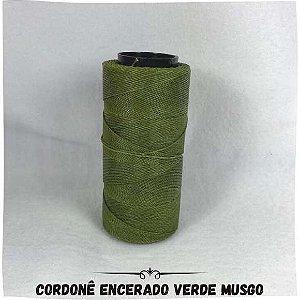 Cordonê Encerado Verde Musgo