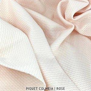 Piquet Colmeia Rose  50cm x 1,45m