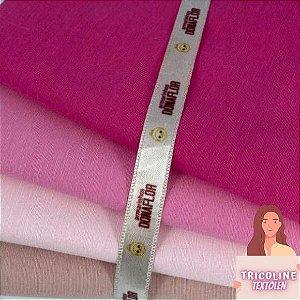 N06Kit Tricoline Misto Tons Rosa (4tecidos) 50cm x70cm