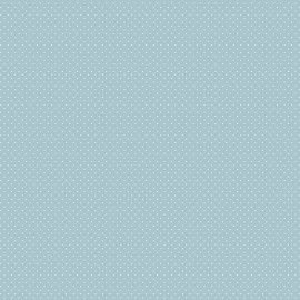Tricoline Micro Póa Azul Bebe 50cm x 1.50m largura