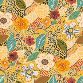 Tricoline Contemporâneo Flor 50cm x 1.50m largura