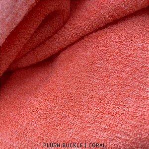 Buckle Plush Coral tecido Flanelado e Felpudo por Fora 50cmx1,50m