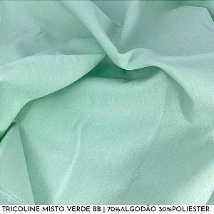 Tricoline Misto Verde bb 50cm x 1,50m