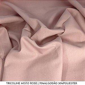Tricoline Misto Rose 50cm x 1,50m