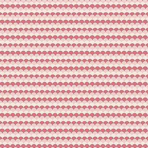 Tricoline Mar Rosa 50cm x 1.50m largura