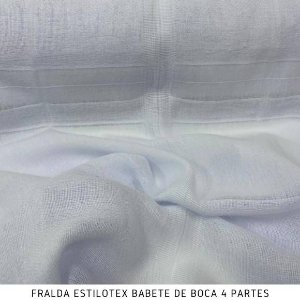Fralda Babete de Boca 4 Partes