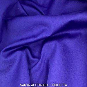 Sarja Lisa acetinado Violetta 50cmx1.40m