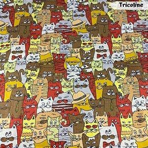 Tricoline Cat 50cm x 1,50m Largura