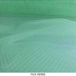 Filó Para Armação Verde 50cm x 3m largura
