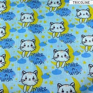 Tricoline Make a Wish 50cm x 1,50m Largura