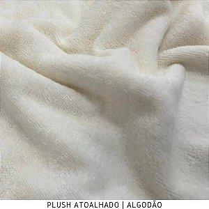 Plush Atoalhado Algodão 50cm x 1,70m largura
