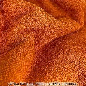 Atoalhado Felpudo Laranja Cenoura  50cmx1,40m