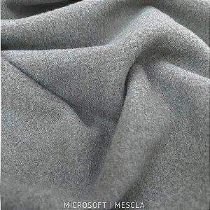 Microsoft Cinza Mescla Hipoalergênico 50cmX1,60m