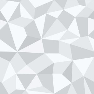 Papel de Parede Adesivo Gray Polygonal