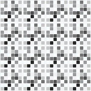 Adesivo de Azulejo Pastilhas Grey