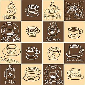 Adesivo de Azulejo Coffee