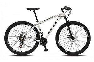 Bicicleta Colli Aluminio Shimano  21m Aro 29  Freio a Disco- Branca
