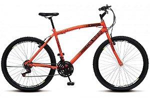 Bicicleta Colli CB500 21m aro 26-laranja Neon