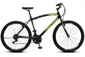 Bicicleta Colli CB500 21m aro 26-Preto fosco