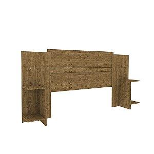 Cabeceira Tcil Box Arizona Casal & Queen- Imbuia rustico