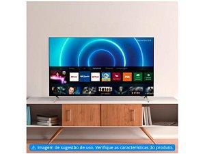 "TV 4K 50"" Philips Smart 4k Wi-Fi Bluetooth HDR10+ 3 HDMI 2 USB-50PUG7625"