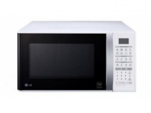 Microondas LG Easy Clean 30 L Branco MS3052RA