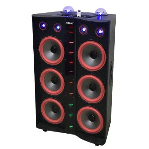 Caixa Amplificada Amvox ACA3000 3000w RMS