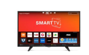 Smart Tv Led Aoc 43 Polegadas Full Hd Conversor Digital Wi-fi Usb Hdmi Le43s5970