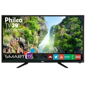 "Smart TV Philco Android Led 39"" PTV39N92DSGWA - Bivolt"