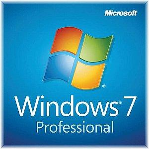 Microsoft Windows 7 Pro 32/64 Bits Original + Nota Fiscal