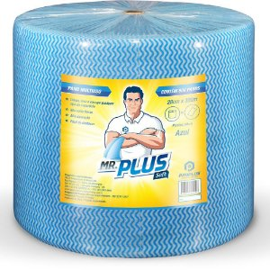 Pano Multiuso MR.PLUS 28x300x600 - Rolo Grande Premium
