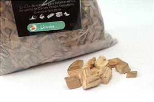 Lascas de Madeira para Defumação - Lichieira 1kg)