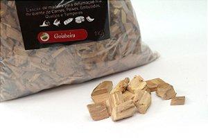 Lascas de Madeira para Defumação - Goiabeira (1kg)