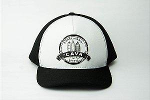 Boné Branco CAVA  (Logo Clássico)