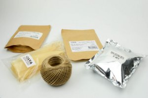 Kit Para Produção De Salame  (Tripa Reta Bovina - Tripa de Colágeno Grampeada - Barbante Encerado - Mix 2 Tipos de Salame)