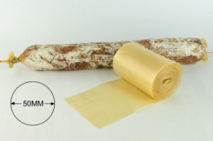 Tripa de Colágeno 50 mm com 10 metros