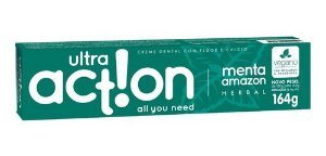 Creme Dental Menta Amazon Herbal 164g - Ultra Action