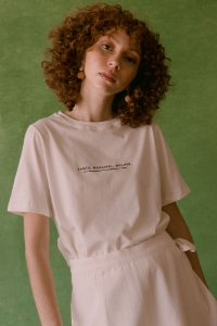 T-shirt Santa, Marginal, Mulher - Jouer Couture