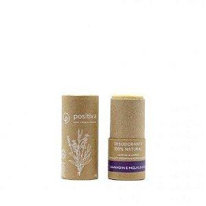 Desodorante Natural Lavandin e Melaleuca 50g - Positiv.a