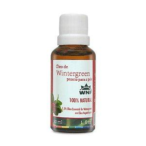 Óleo de Wintergreen Pronto Para a Pele 30ml - WNF