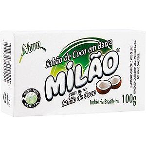 Sabão de Coco em Barra 100g - Milão