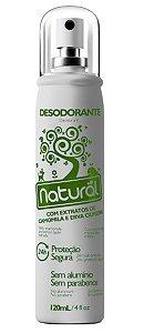 Desodorante Natural com Extratos de Camomila e Erva Cidreira 120ml - Suavetex
