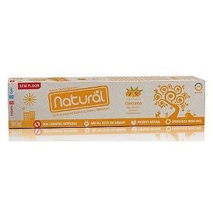 Creme Dental Natural com Extratos de Cúrcuma, Cravo e Melaleuca 80g - Suavetex