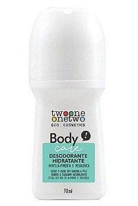 Desodorante Hidratante Hortelã-Pimenta e Melaleuca 70ml - Twoone Onetwo
