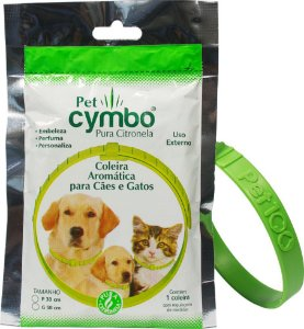 Coleira Repelente para Pets P - Cymbo