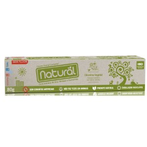Creme Dental Natural com Extratos de Uva, Melissa e Camomila 80g - Suavetex