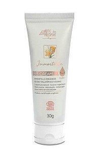 BB Cream Immortelle Com Ácido Hialurônico Orgânico Cor Clara 30g - Arte dos Aromas
